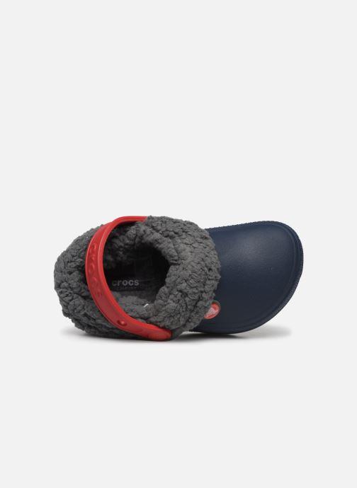 Sandales et nu-pieds Crocs Classic Blitzen III Clog K Bleu vue gauche