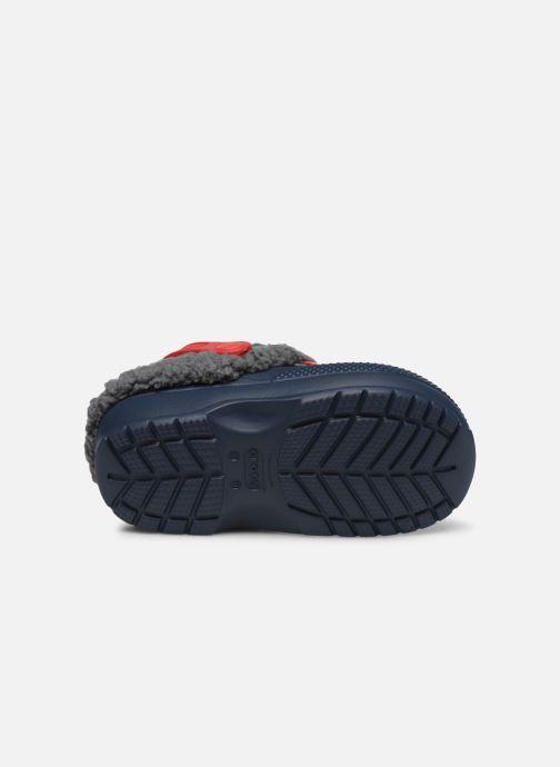 Sandales et nu-pieds Crocs Classic Blitzen III Clog K Bleu vue haut