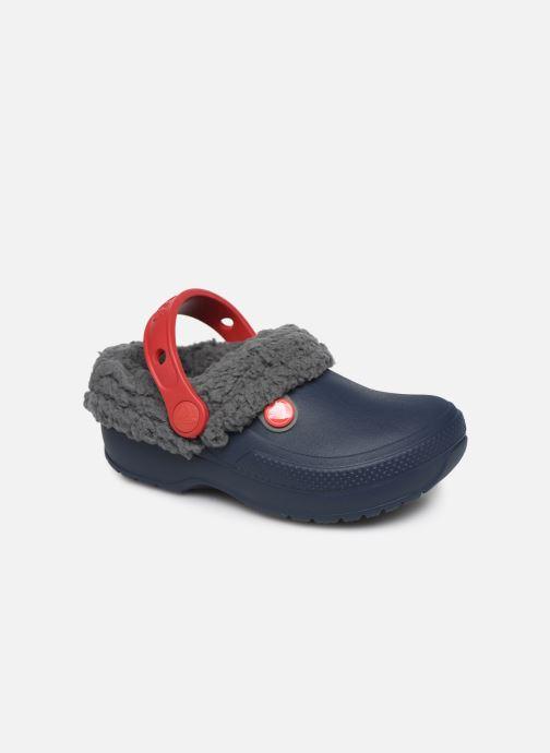 Sandales et nu-pieds Crocs Classic Blitzen III Clog K Bleu vue détail/paire