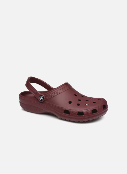 Sandals Crocs Classic M Burgundy detailed view/ Pair view