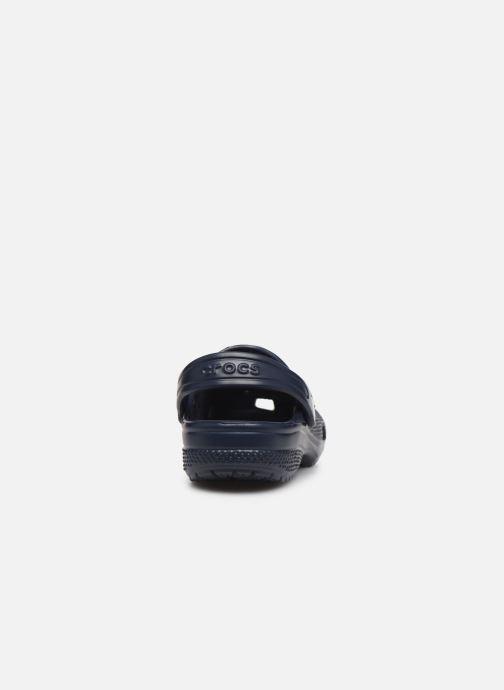 Sandales et nu-pieds Crocs Classic Chrome Clog K Bleu vue droite