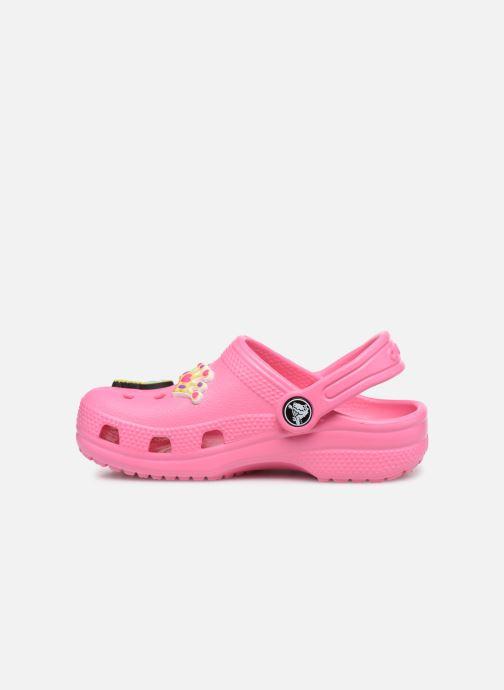 Sandali e scarpe aperte Crocs Classic Chrome Clog K Rosa immagine frontale