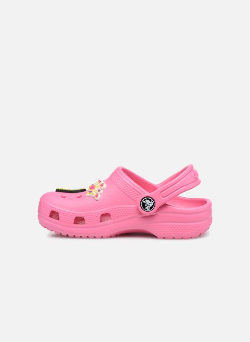 Sandales et nu-pieds Crocs Classic Chrome Clog K Rose vue face