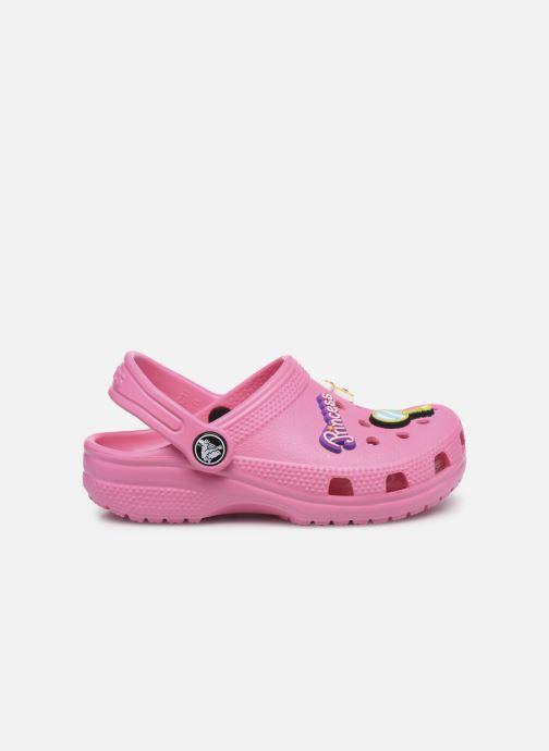 Sandales et nu-pieds Crocs Classic Chrome Clog K Rose vue derrière