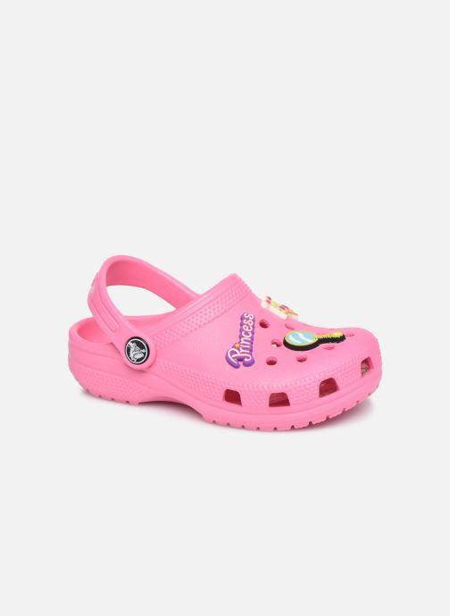Sandales et nu-pieds Crocs Classic Chrome Clog K Rose vue détail/paire