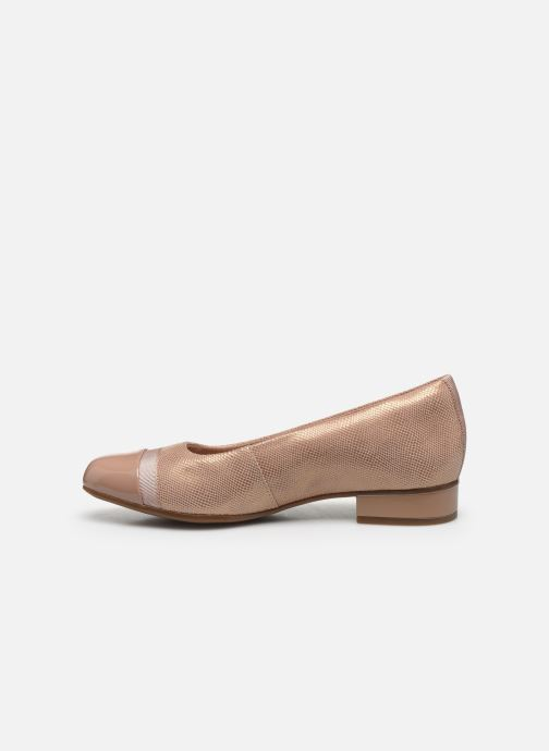 Ballerines Clarks Juliet Monte Rose vue face