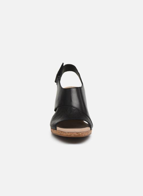 Sandales et nu-pieds Clarks Lafley Joy Noir vue portées chaussures
