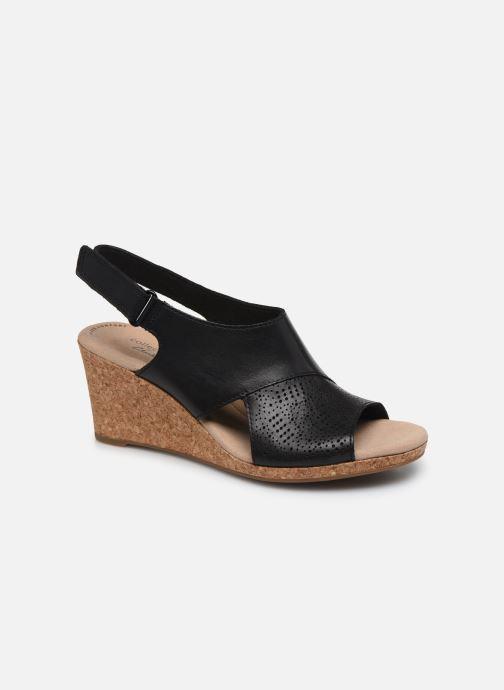 Sandales et nu-pieds Clarks Lafley Joy Noir vue détail/paire