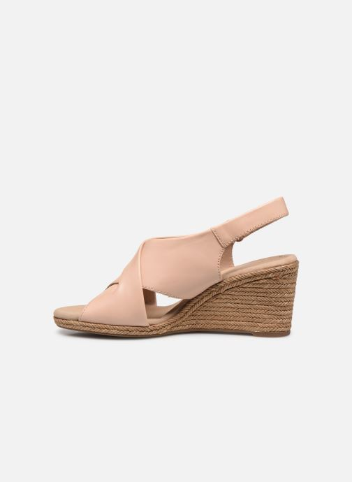 Sandali e scarpe aperte Clarks Lafley Alaine Rosa immagine frontale