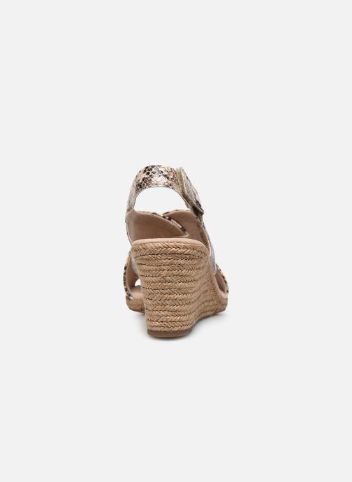 Sandales et nu-pieds Clarks Lafley Alaine Beige vue droite