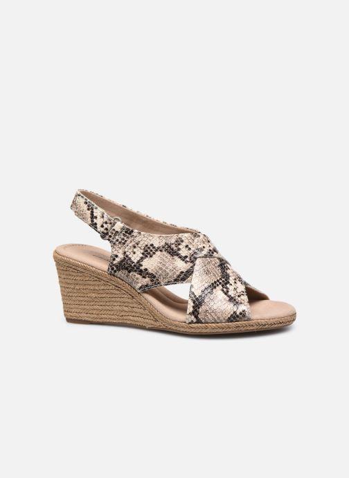 Sandales et nu-pieds Clarks Lafley Alaine Beige vue derrière