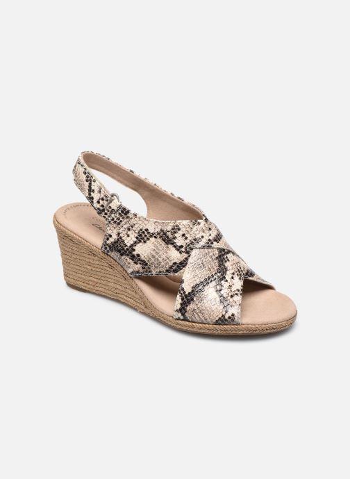 Sandales et nu-pieds Clarks Lafley Alaine Beige vue détail/paire