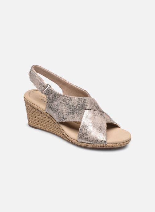 Sandaler Clarks Lafley Alaine Sølv detaljeret billede af skoene