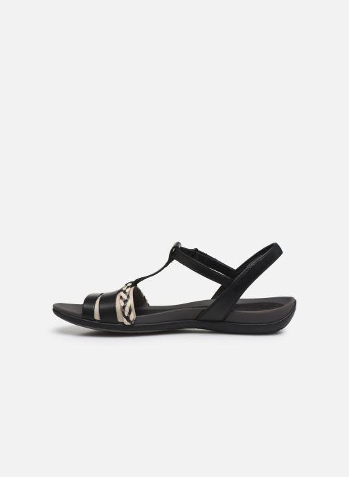 Sandales et nu-pieds Clarks Tealite Grace Noir vue face