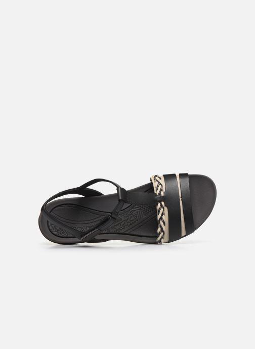Sandales et nu-pieds Clarks Tealite Grace Noir vue gauche