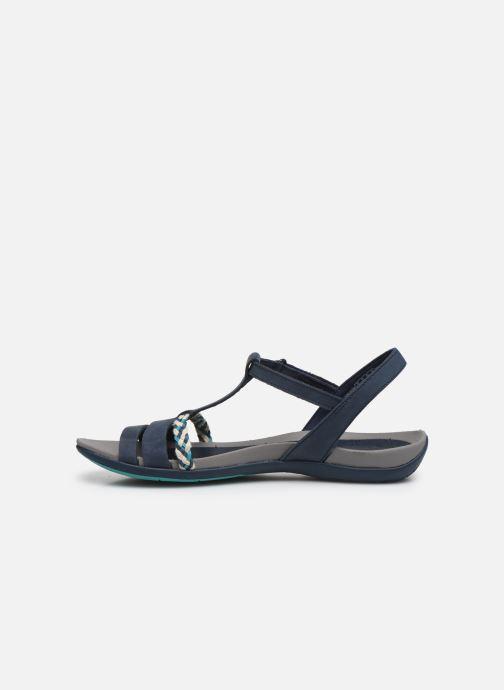 Sandales et nu-pieds Clarks Tealite Grace Bleu vue face