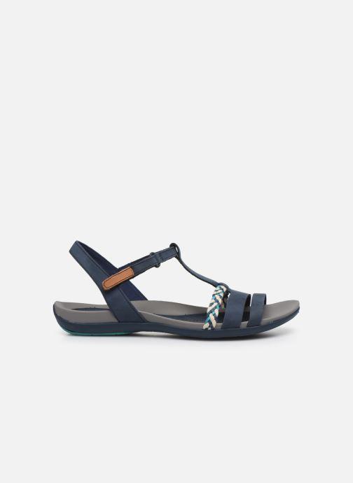 Sandales et nu-pieds Clarks Tealite Grace Bleu vue derrière