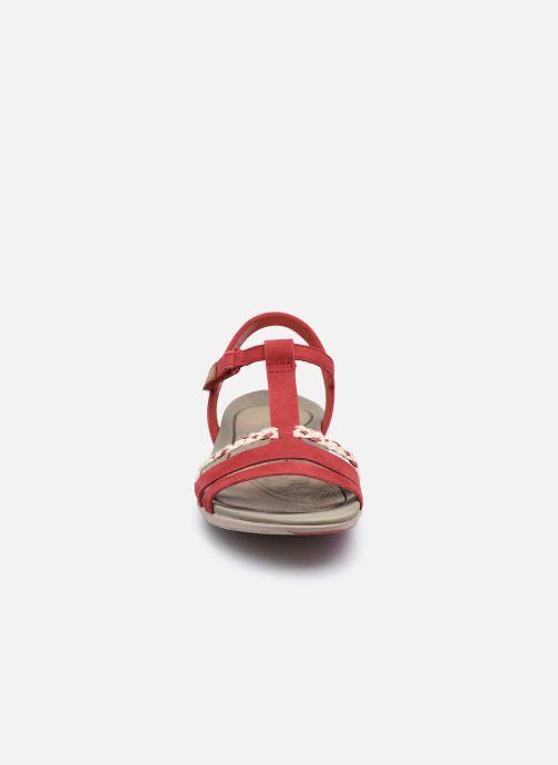 Sandalen Clarks Tealite Grace rot schuhe getragen