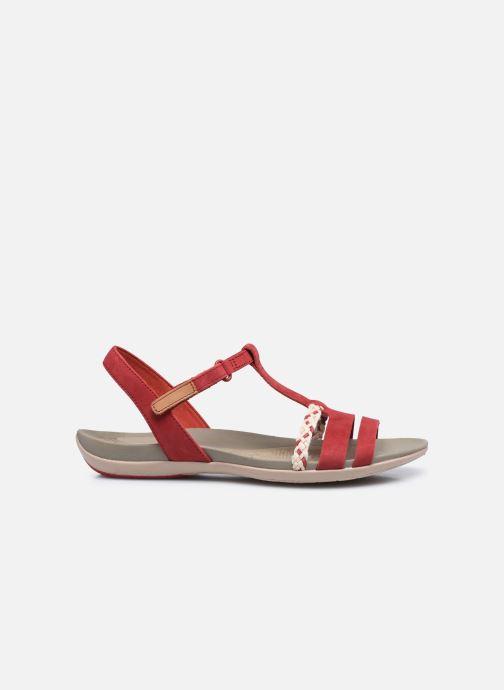 Sandalen Clarks Tealite Grace rot ansicht von hinten