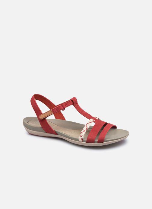 Sandalen Clarks Tealite Grace rot detaillierte ansicht/modell