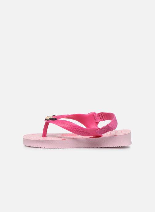 Sandalen Havaianas Baby Disney Classics 2 Roze voorkant