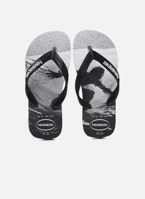 Chanclas Havaianas Top Photoprint Kid Negro vista del modelo