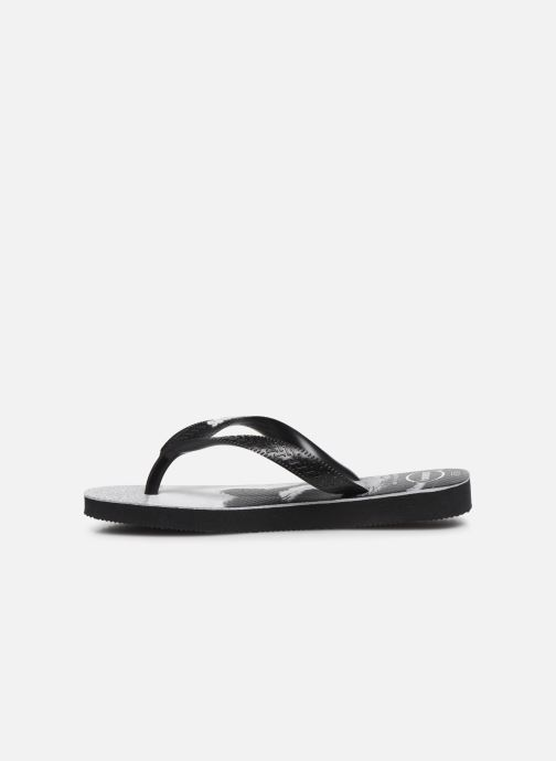 Chanclas Havaianas Top Photoprint Kid Negro vista de frente