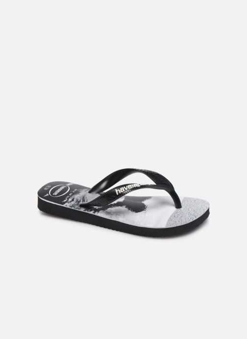 Chanclas Havaianas Top Photoprint Kid Negro vista de detalle / par