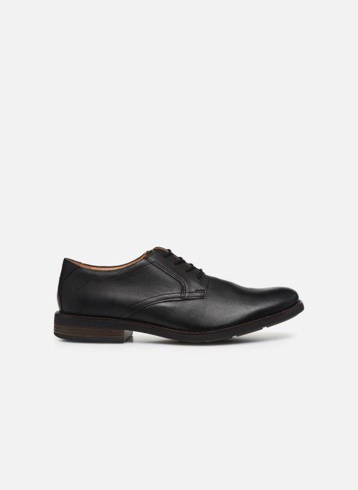 Zapatos con cordones Clarks Becken Lace Negro vistra trasera