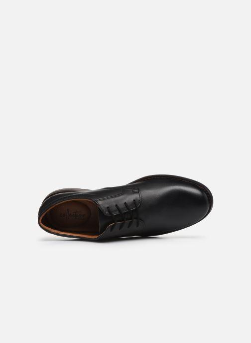 Zapatos con cordones Clarks Becken Lace Negro vista lateral izquierda