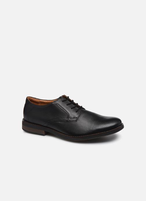 Chaussures à lacets Clarks Becken Lace Noir vue détail/paire