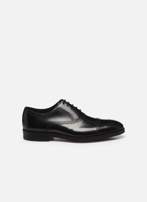 Zapatos con cordones Clarks Oliver Limit Negro vistra trasera