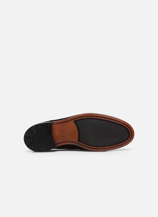 Zapatos con cordones Clarks Oliver Limit Negro vista de arriba