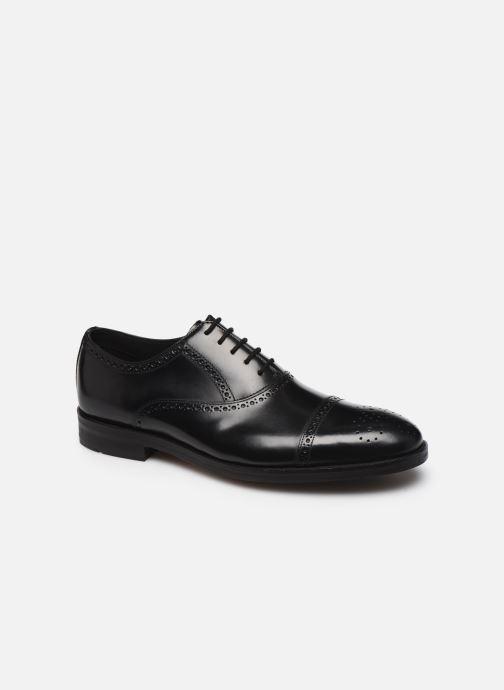 Zapatos con cordones Clarks Oliver Limit Negro vista de detalle / par