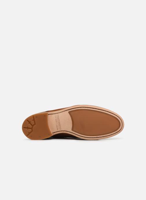 Chaussures à lacets Clarks Oliver Limit Marron vue haut