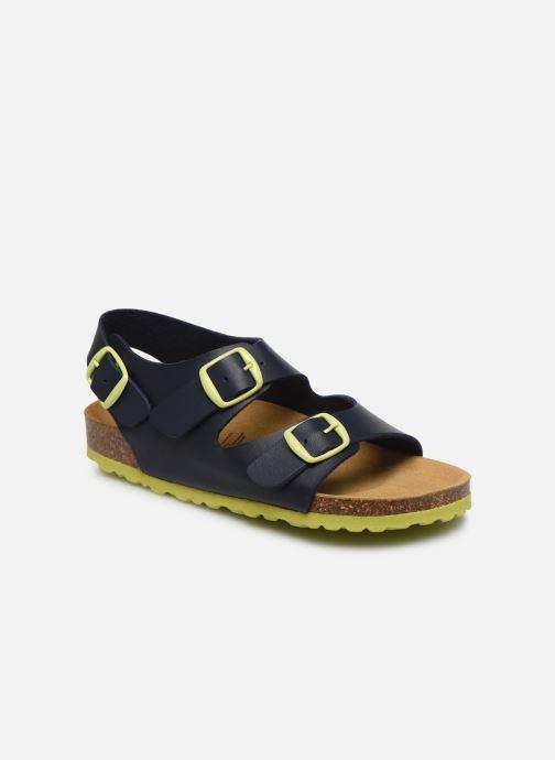 Sandales et nu-pieds Lico Bioline Master Bleu vue détail/paire