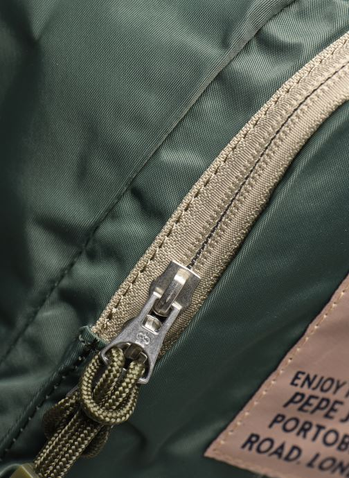 Rucksäcke Pepe jeans Alan Bag grün ansicht von links