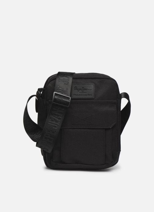Herrentaschen Pepe jeans Camp Medium Shoulder Bag schwarz detaillierte ansicht/modell