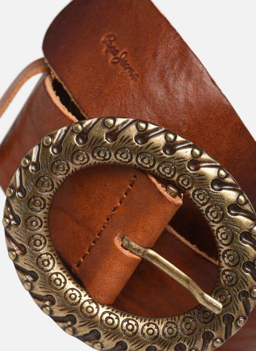Cinturones Pepe jeans Anya Belt Marrón vista del modelo