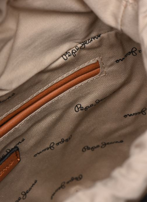 Handtaschen Pepe jeans Ramy Bag braun ansicht von hinten