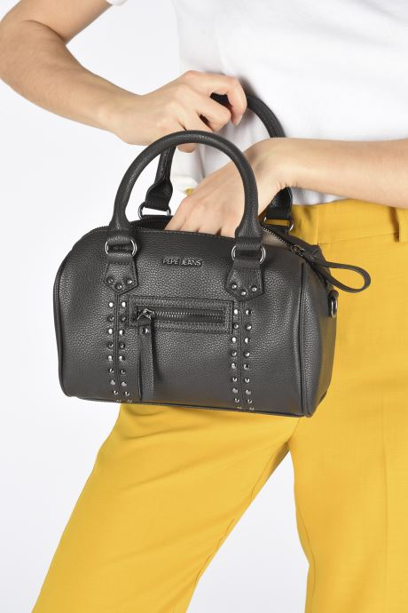 Handbags Pepe jeans Wamber Bag Black view from underneath / model view