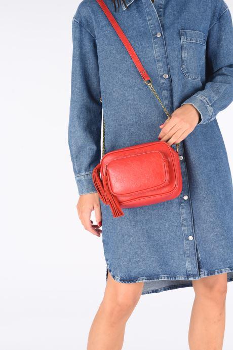 Sacs à main Pepe jeans Moira Bag Rouge vue bas / vue portée sac