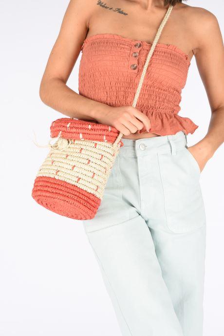 Sacs à main Pepe jeans Vera Bag 2 Blanc vue bas / vue portée sac