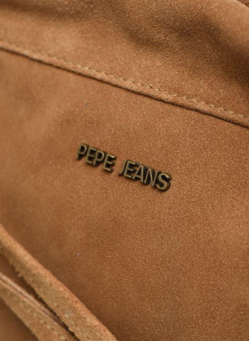 Sacs à main Pepe jeans Tamar Bag Marron vue gauche