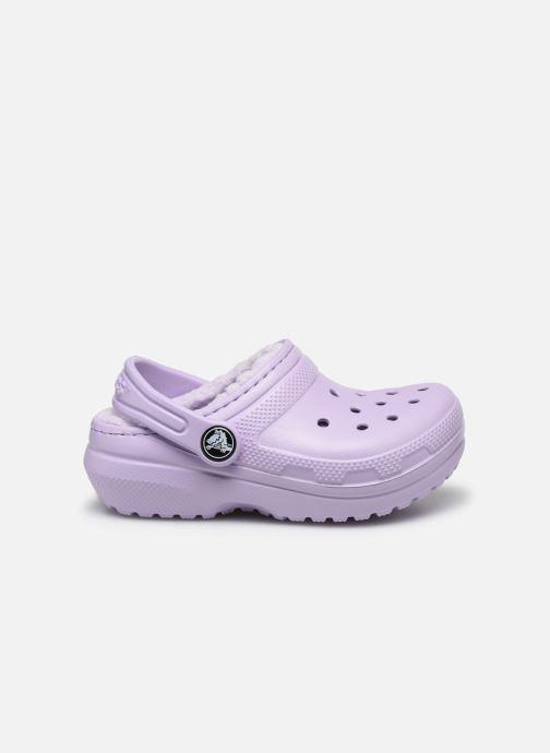 Sandales et nu-pieds Crocs Classic Lined clog K Violet vue derrière
