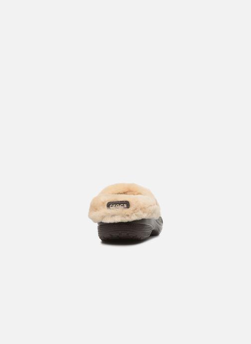 Sandali e scarpe aperte Crocs Classic Mammoth Luxe Clogs Marrone immagine destra