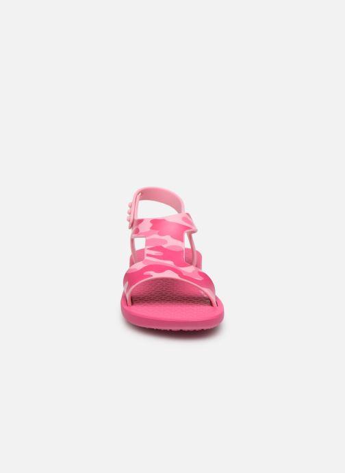 Sandali e scarpe aperte Ipanema Ipanema Dreams II Baby Rosa modello indossato