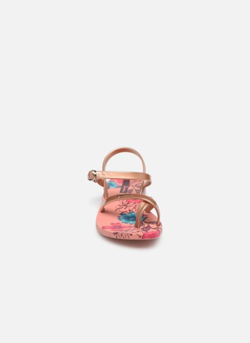 Chanclas Ipanema Ipanema Fashion SD VII Kids Rosa vista del modelo