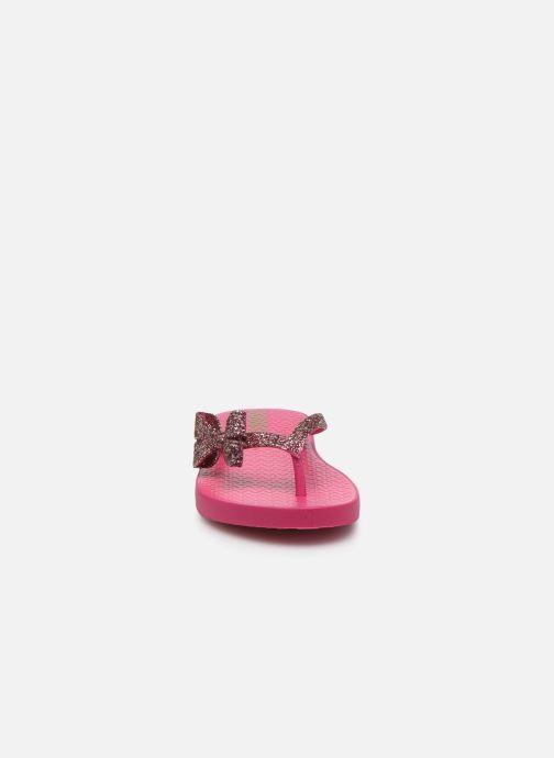 Tongs Ipanema Ipanema Lolita IV Kids Rose vue portées chaussures