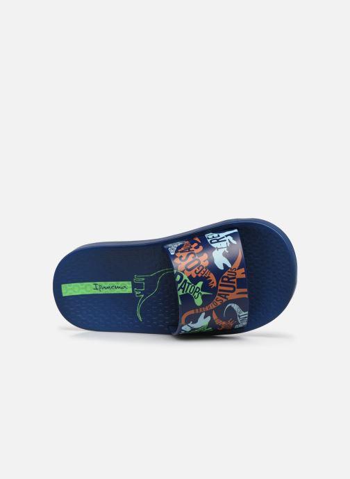 Sandali e scarpe aperte Ipanema Ipanema Urban Slide Kids Azzurro immagine sinistra